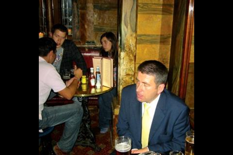 Building buys a pint … for Verry Construction